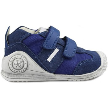 Shoes Boy Low top trainers Biomecanics deportiva muy Bio Running BLUE