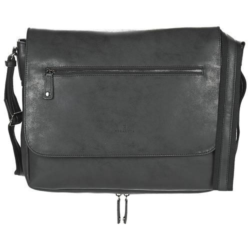 Bags Men Messenger bags Hexagona JOULO Black