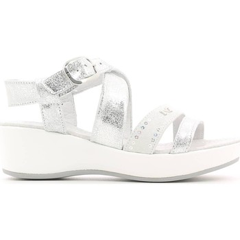Shoes Girl Sandals Nero Giardini P631330F Sandals Kid Silver Silver