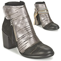 Shoes Women Ankle boots Felmini CARMEN Black / Silver