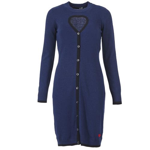Clothing Women Short Dresses Love Moschino PESCARI Marine