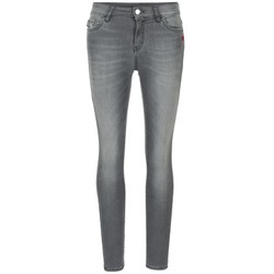 Clothing Women slim jeans Love Moschino MANI Grey