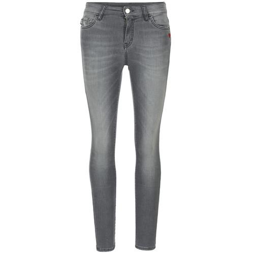 Clothing Women slim jeans Love Moschino MANI Grey