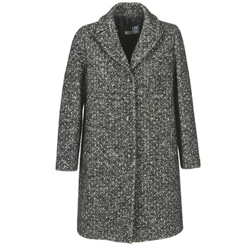 Clothing Women coats Love Moschino MANSOI Grey