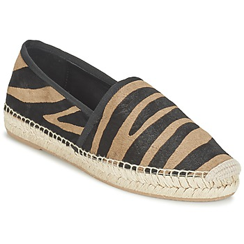 Shoes Women Espadrilles Marc Jacobs SIENNA Black / Camel