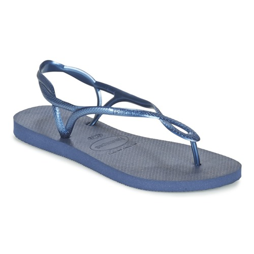 Shoes Women Flip flops Havaianas LUNA Blue / Marine