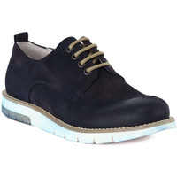Shoes Men Brogues Pawelk's PAWELKS CAMOSCIO EXEL Blu