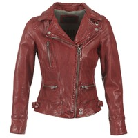 Clothing Women Leather jackets / Imitation leather Oakwood VIDEO Red