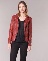 Clothing Women Leather jackets / Imitation leather Oakwood VIDEO Red