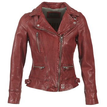 Clothing Women Leather jackets / Imitation leather Oakwood 62065 Red