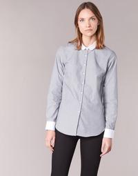 Clothing Women Shirts Casual Attitude FIFOU Grey