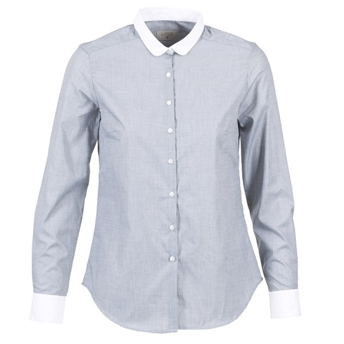 Clothing Women Shirts Casual Attitude FIFOU Grey