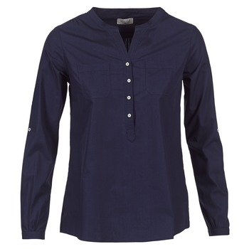 Clothing Women Shirts Casual Attitude FARANDOLE Marine