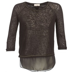Clothing Women Long sleeved tee-shirts Moony Mood FOULI Black