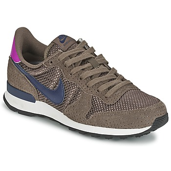 Shoes Women Low top trainers Nike INTERNATIONALIST PREMIUM W Brown