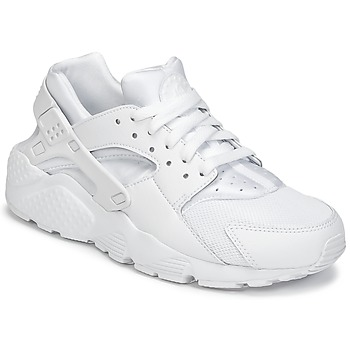Shoes Boy Low top trainers Nike HUARACHE RUN JUNIOR White