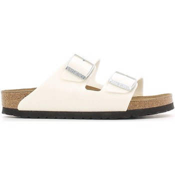 Shoes Women Mules Birkenstock 057663 Sandals Women Bianco Bianco