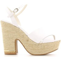 Shoes Women Sandals Grace Shoes 0-71712 High heeled sandals Women White White