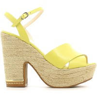 Shoes Women Sandals Grace Shoes 0-71712 High heeled sandals Women Lime Lime