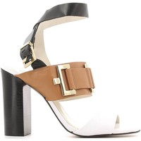 Shoes Women Sandals Grace Shoes 22-87140 High heeled sandals Women Cuoio Cuoio