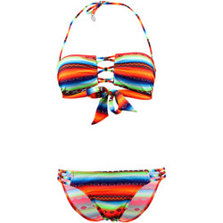 Clothing Women Bikinis Lolita Angel 2 Pieces Multicolor Bandeau Swimsuit Rio Charm Acapulco Psycho MULTICOLOUR