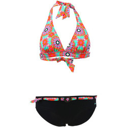 Clothing Women Bikinis Lolita Angel 2 Pieces Multicolor Triangle Shorty Swimsuit Soft Rangoli MULTICOLOUR