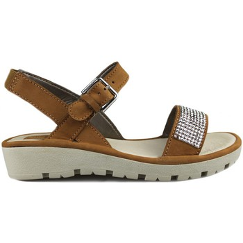 Shoes Women Sandals Flexx Sun Strass BROWN