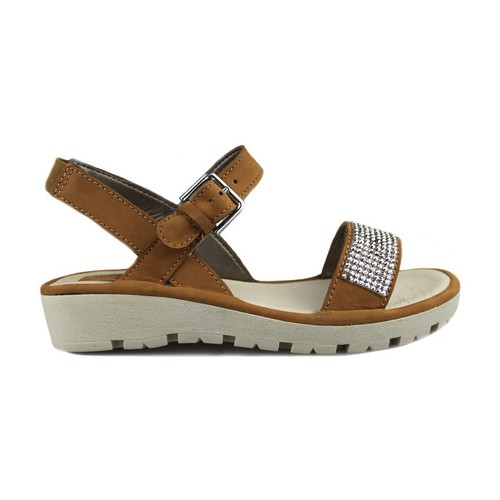 Shoes Women Sandals The Flexx Flexx Sun Strass BROWN