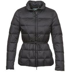 Clothing Women Duffel coats Geox CHESQUALE Black