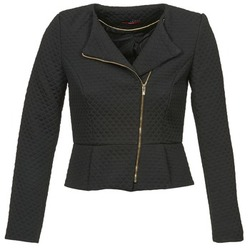 Clothing Women Jackets / Blazers La City ARNIE Black
