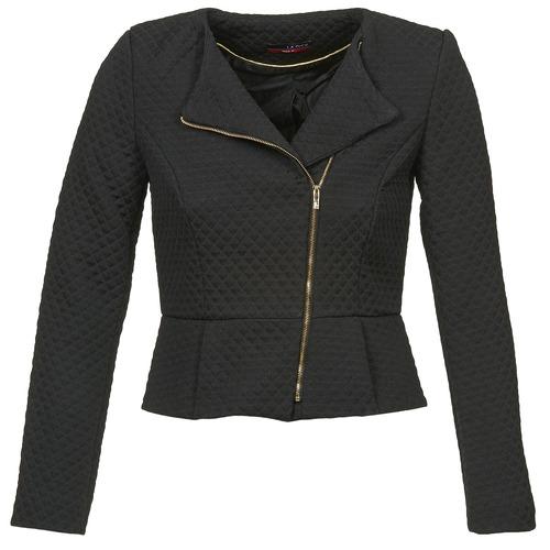 Clothing Women Jackets / Blazers La City ARNIE Black