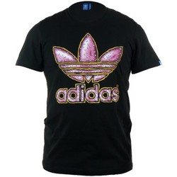 Clothing Men short-sleeved t-shirts adidas Originals Originals Donut Black