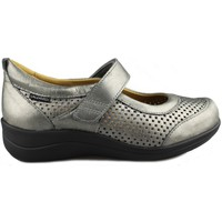 Shoes Women Flat shoes Calzamedi VELCRO CUÑA GRAY