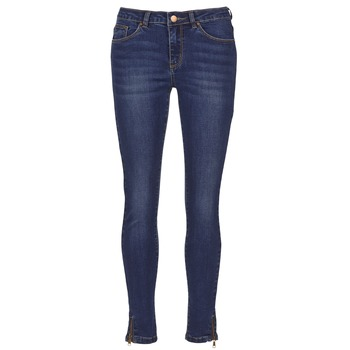 Clothing Women slim jeans Yurban FOLDINE Blue