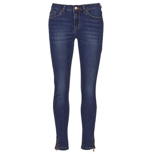 Clothing Women slim jeans Moony Mood IFABANE Blue
