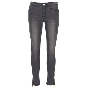 Clothing Women slim jeans Yurban FABANE Grey