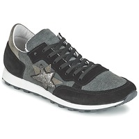 Shoes Women Low top trainers Yurban FILLIO Black / Grey