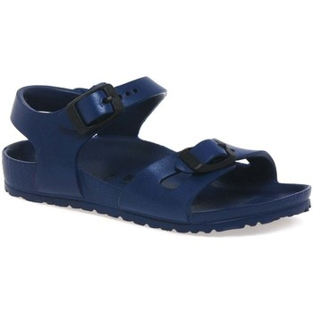 Shoes Girl Sandals Birkenstock Rio Eva Kids Sandals blue