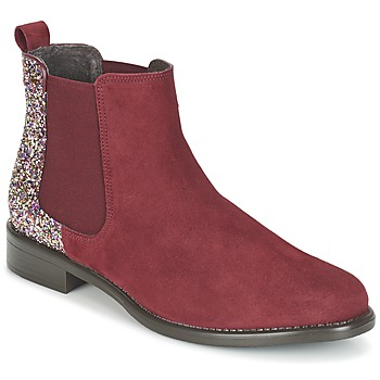 Shoes Women Mid boots Betty London FREMOUJE BORDEAUX / Multicoloured