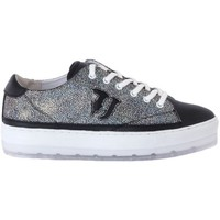 Shoes Women Low top trainers Trussardi LEATHER SAFFIANO Multicolore