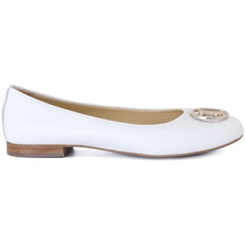 Shoes Women Flat shoes Trussardi BALLERINE WHITE Multicolore