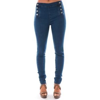 Clothing Women slim jeans Dress Code Jean Demin Avenue  15HP006-2 Blue
