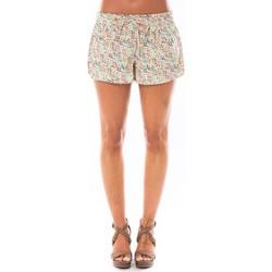Clothing Women Shorts / Bermudas Little Marcel Short Simeon Blanc Imprimé White