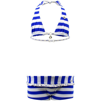 Clothing Girl Bikinis Banana Moon 2-Piece Blue and White Girls Swimsuit Hills Simba BLUE