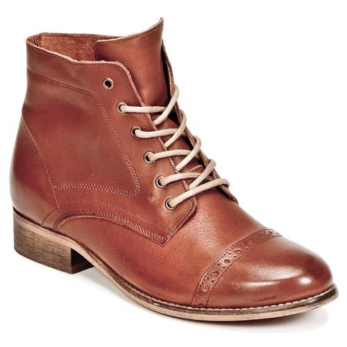 Shoes Women Mid boots Betty London FOLIANE Camel