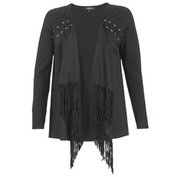 Clothing Women Jackets / Cardigans Morgan MIKER Black