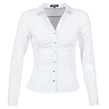Clothing Women Shirts Morgan CARAM White