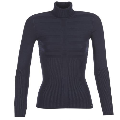 Clothing Women Jumpers Morgan MENTOS Blue