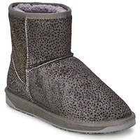 Shoes Women Mid boots Booroo MINNIE LEO Grey / Leo