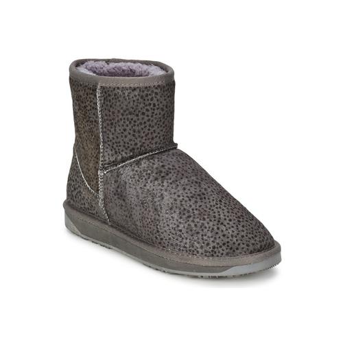 Shoes Women Mid boots Booroo MINNIE LEO Grey / Leo